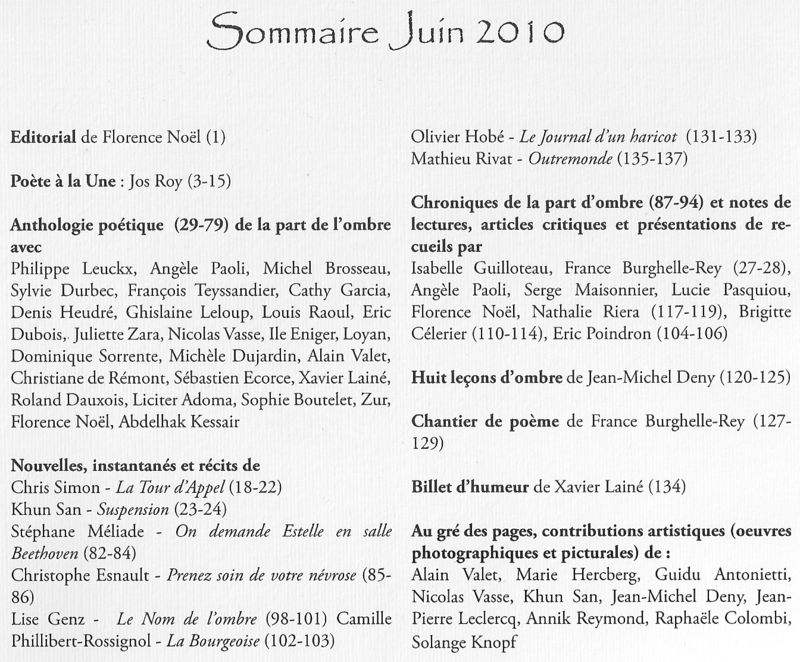 Diptyque sommaire